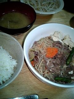 肉豆腐と私。