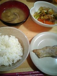 野菜炒めは。